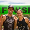Atkinson and Densham take Oceania Cross Triathlon Titles