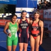 Mexicans defend their home in the American Triathlon Championship
