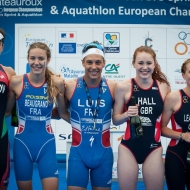 Châteauroux – ETU's first ever Elite Sprint Golds are won in style.