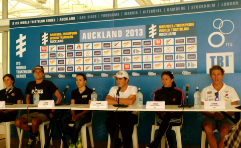 Auckland Pre Race Press Conference