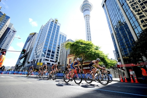 Start lists available for Auckland World Triathlon Series opener