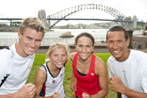 One month to 2012 ITU World Triathlon Series opener in Sydney