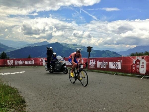 Alistair Brownlee conquers the WTS Kitzbuehel climb in crushing style