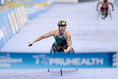 Help Bill Chaffey become IPC Athlete of the Month