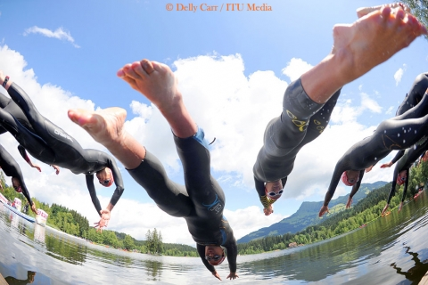 Essential triathlon training tips: Swim coordination