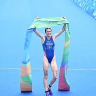 Gwen Jorgensen (USA) claims Olympic Gold in dominant Rio perfomance