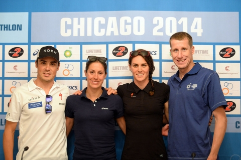 Athlete chatter ahead of World Triathlon Chicago