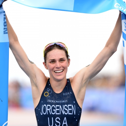 Jorgensen creates history winning in Chicago