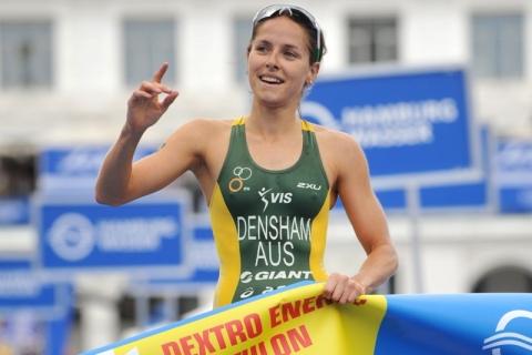 Erin Densham superb to take second ITU World Triathlon Series win in Hamburg