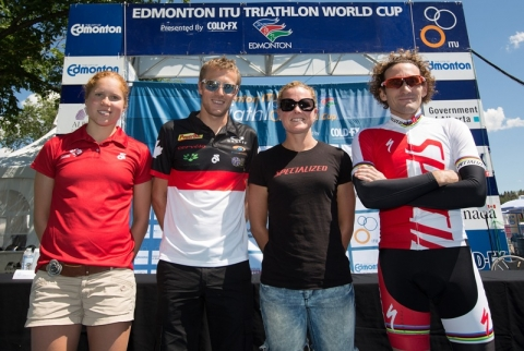 Edmonton World Cup pre-race Press Conference Highlights