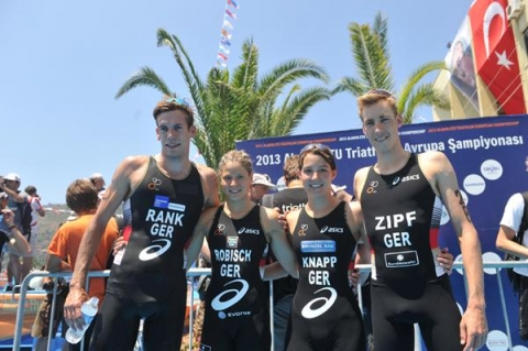 Germany wins European Championship Mixed Relay title