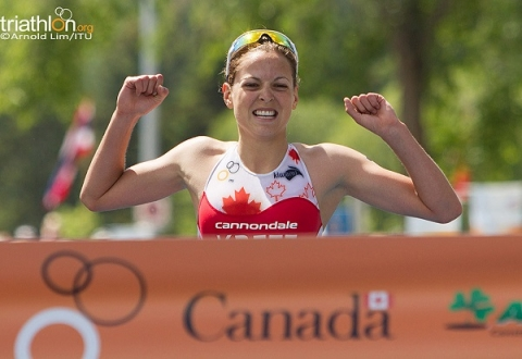 Canadian women sweep the podium in Edmonton