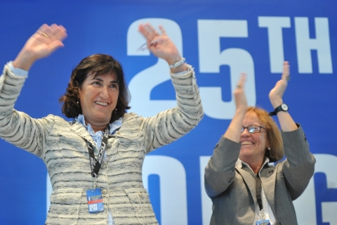 ITU President Marisol Casado and ITU Secretary General Loreen Barnett win re-election