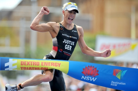 Germany's Steffen Justus claims debut ITU World Triathlon Series title in Sydney