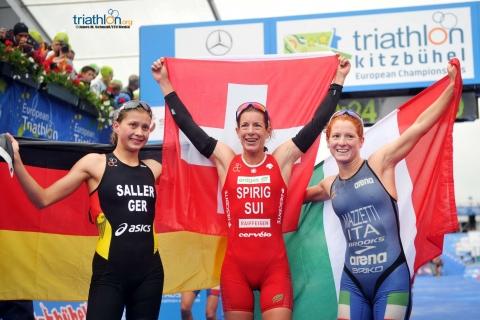 Spirig claims fourth European title