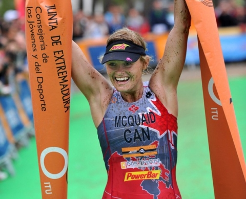 Melanie McQuaid crowned first ITU Cross Triathlon World Champion