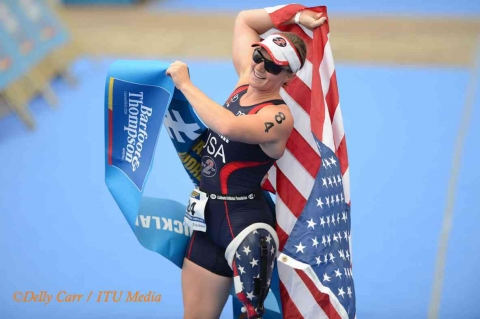 Vote for pair of paratriathletes shortlisted for IPC Athlete of the Month