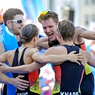 Great Britain win U23 Mixed Relay World Championships