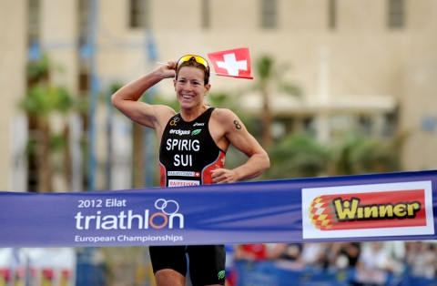 Spirig sprints to regain European Championship title