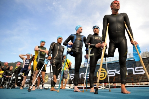 Record number of paratriathletes to contest 2012 Auckland world titles
