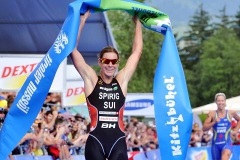 Sensational Spirig golden again in Kitzbühel