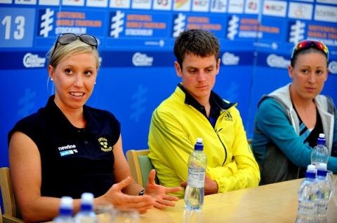 Stockholm Press Conference