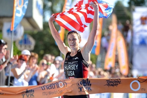 Katie Hursey triumphs in Tiszaujvaros World Cup