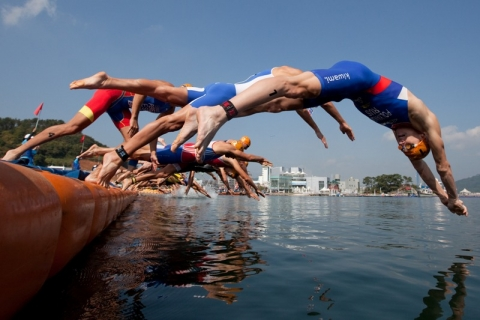 ITU World Cup season shifts to Tongyeong, Korea
