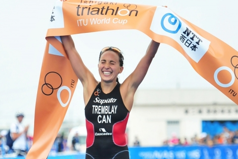 Canada's Kathy Tremblay scores debut World Cup victory in Ishigaki