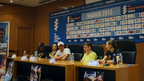 World Triathlon Madrid Athlete Press Conference
