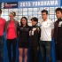 Elite athlete Yokohama WTS press conference