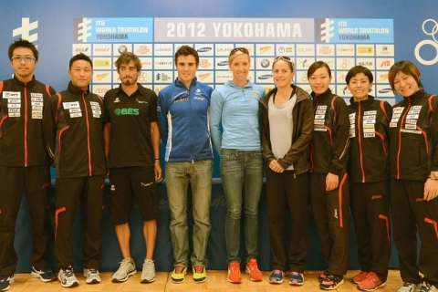 2012 Yokohama Pre-race Press Conference Highlights