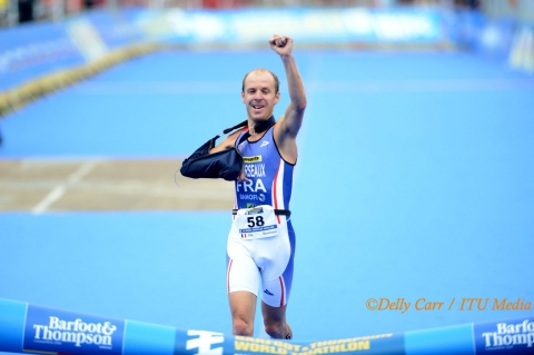 Bourseaux named IPC October Athlete of the Month