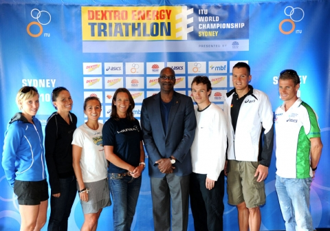 ITU Launches 2010 Season in Sydney & Announces New Partnership With Laureus