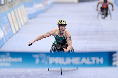 Bill Chaffey's fourth Paratriathlon title is the sweetest