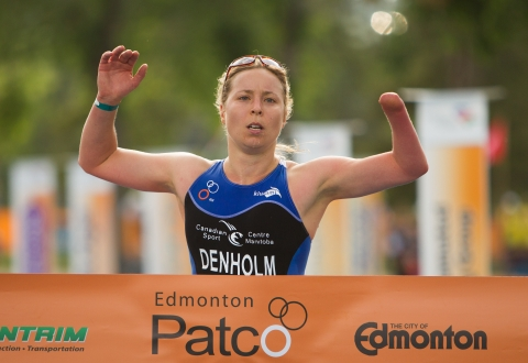 Edmonton ITU Paratriathlon International Event