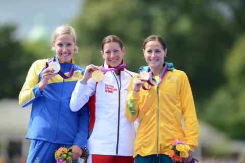 London 2012 Olympic Games: Spirig Sprints to First Olympic Gold