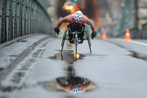 Budapest Hosts World's Biggest Paratriathlon