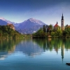 Juniors get to race in the most stunning setting of Lake Bled.
