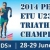 Gordon Benson and Elena Danilova claim European U23 titles in Penza
