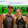 Atkinson and Densham take Oceania Cross Triathlon Titles