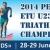 Gordon Benson and Elena Danilova claim European U23 titles in Penza