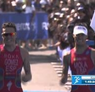Gomez vs Mola Sprint Finish - Yokohama WTS 2014