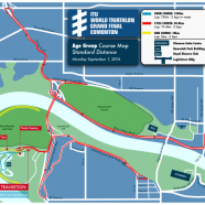 2014 TransCanada Corp. Edmonton - Standard Distance Age Group Bike Course