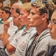 2012 Kitzbuehel Athletes briefing