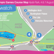 London Course Map