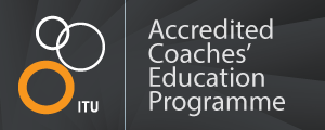 ITU Accredited Coaches' Education Programme Logo