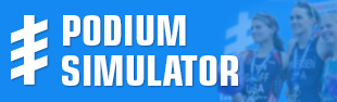 World Triathlon Series Podium Simulator