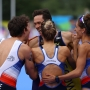 World champions France power to European mixed relay gold